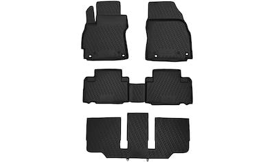 WALSER Passform-Fußmatten, (4 St.), für BMW 3er (Typ E90) Bj 2005 bis 2012 kaufen