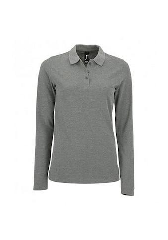 SOLS Poloshirt »Damen Pique-Polo-Shirt, langärmlig« kaufen