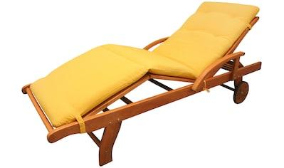 indoba Liegenauflage »Relax«, Gelb - IND-70414-AUSL kaufen