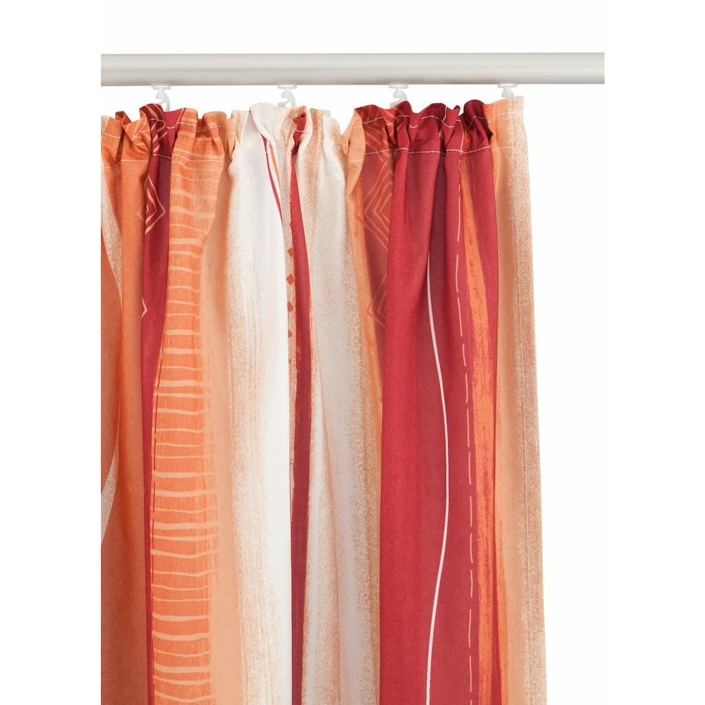 my home Vorhang »Macias«, Gardine, Fertiggardine, halbtransparent