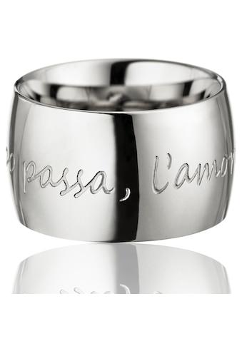 Gilardy Ring »Edelstahl White Silver« kaufen