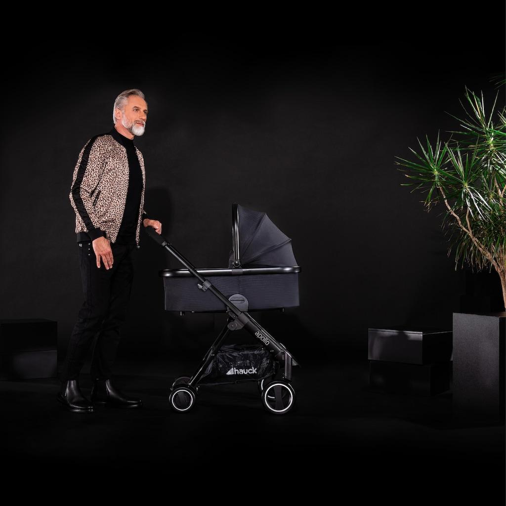 Hauck Sportbuggy »Apollo Duo Set, caviar«, inkl. Babywanne und Beindecke; Kinderwagen, Buggy, Sportwagen, Kinder-Buggy, Kinderbuggy, Sport-Kinderwagen