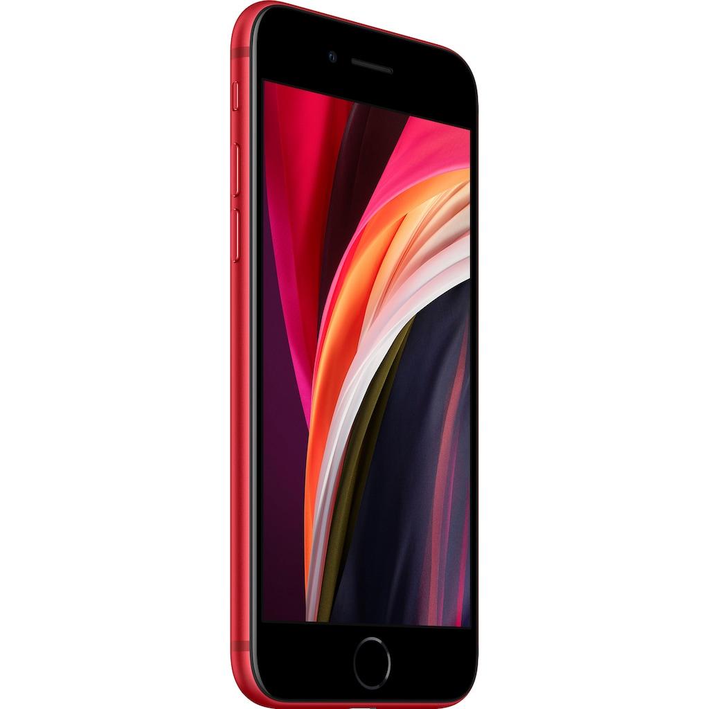 """Apple Smartphone »iPhone SE (2020)«, (11,94 cm/4,7 """" 128 GB Speicherplatz, 12 MP Kamera), ohne Strom-Adapter und Kopfhörer"""