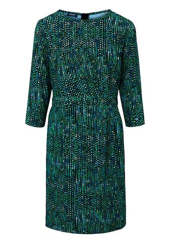 Basler Kleid mit Allover - Muster und Tailleneinsatz kaufen