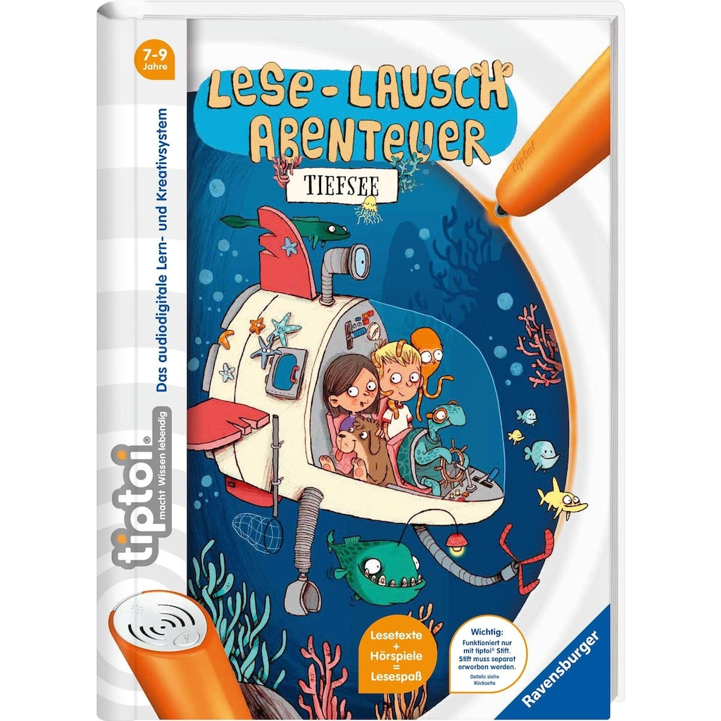 Ravensburger Buch »tiptoi® Lese-Lausch Abenteuer Tiefsee«, ; Made in Germany