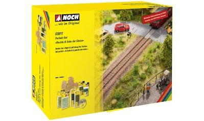 NOCH Modelleisenbahn-Busch »Rechts & links der Gleise« kaufen