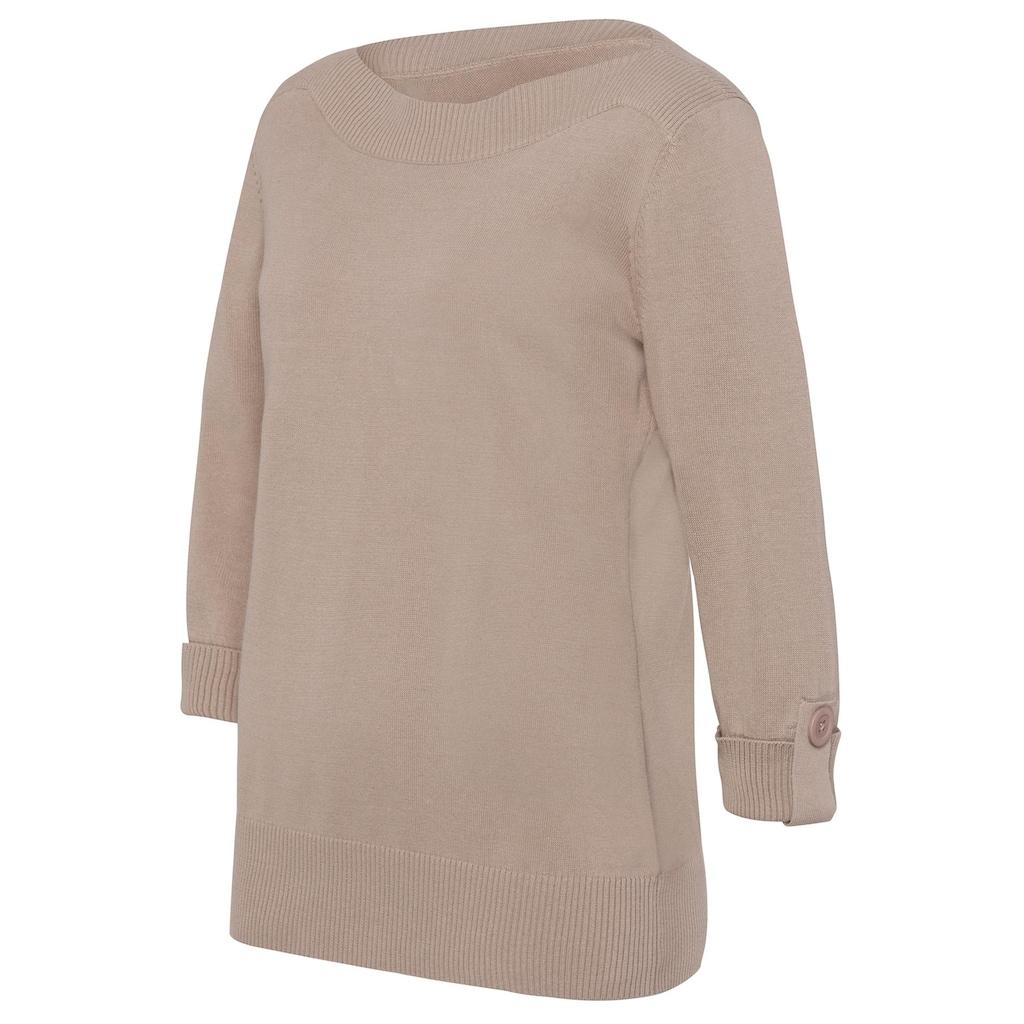 Classic Basics 3/4 Arm-Pullover »Pullover«
