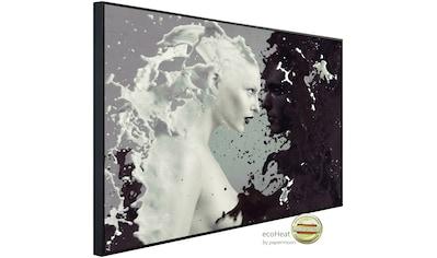 Papermoon Infrarotheizung »Frau Schwarz & Weiß«, sehr angenehme Strahlungswärme kaufen