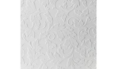 WOW Papiertapete »Acanthus«, uni, Weiß - 10m x 52cm kaufen