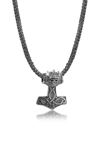 Kuzzoi Kette mit Anhänger »Herren Thor´s Hammer Keltischer Knoten 925 Silber« kaufen