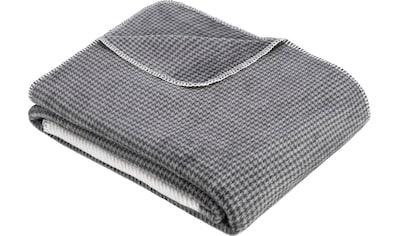 s.Oliver Wohndecke »Jacquard Decke s.Oliver«, minimalistisches Karomuster kaufen