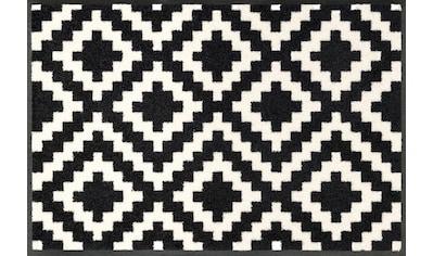 wash+dry by Kleen-Tex Fußmatte »Kalmar«, rechteckig, 7 mm Höhe, Schmutzfangmatte kaufen