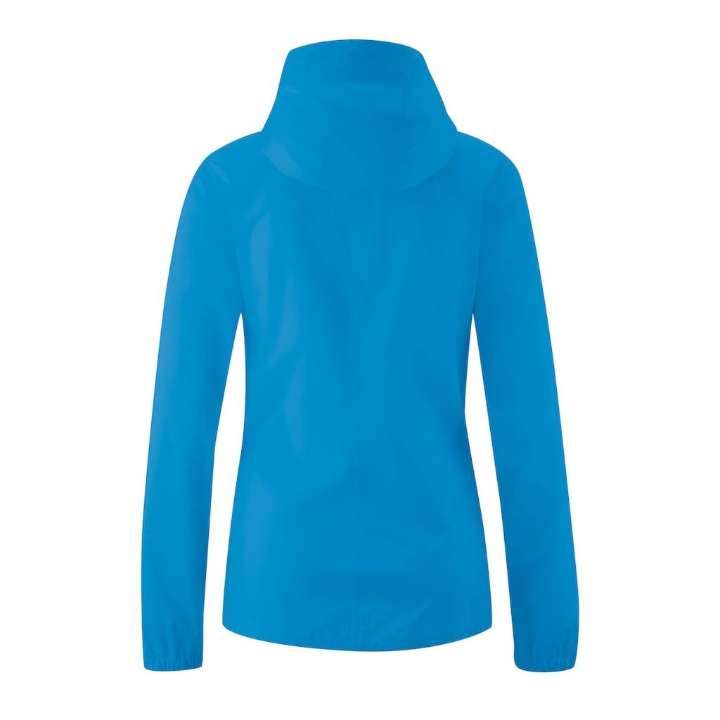 Maier Sports Funktionsjacke »Tind Eco W«, Minimalistische 2,5-Lagen-Jacke für Wanderungen und Touren