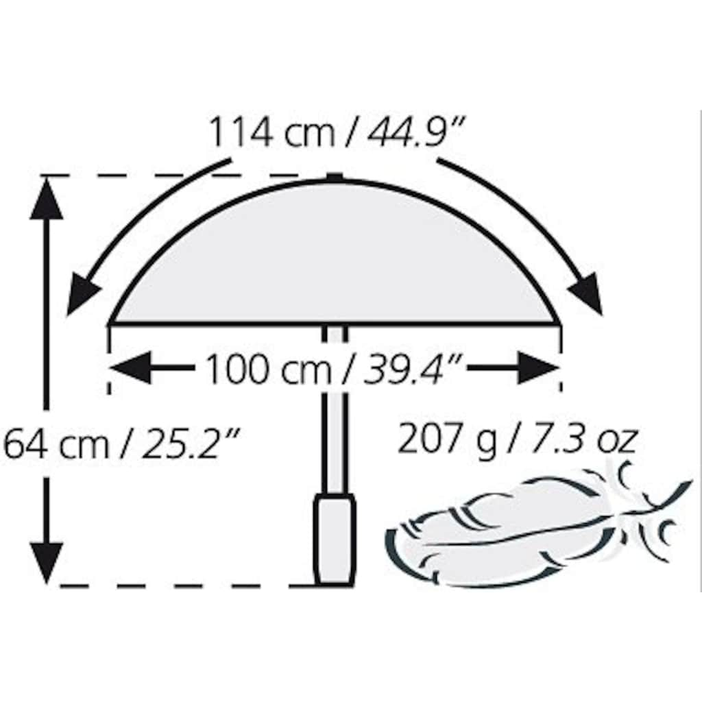 Euroschirm Trekkingschirm »Swing liteflex«
