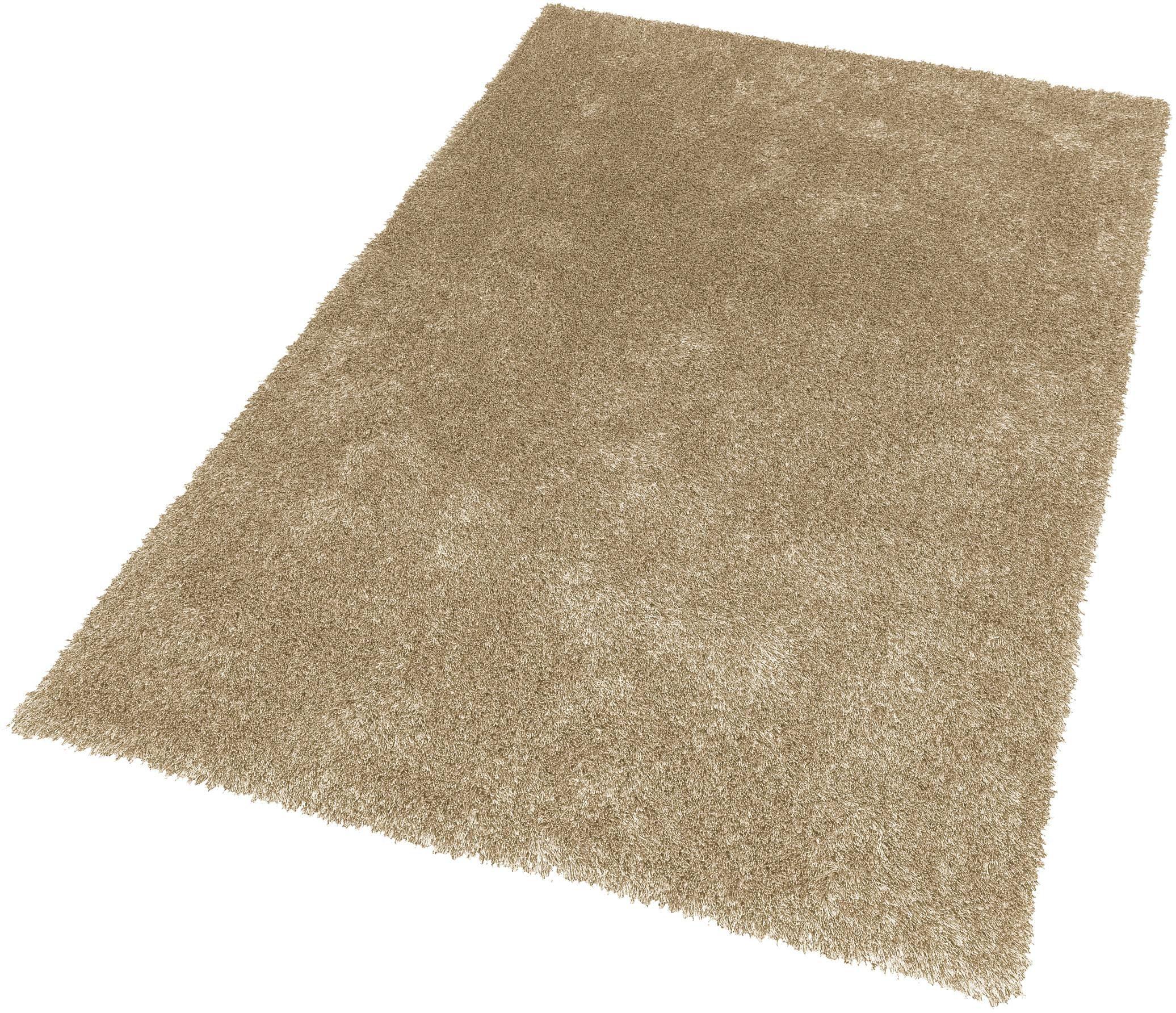 Hochflor-Teppich New Feeling SCHÖNER WOHNEN-Kollektion rechteckig Höhe 40 mm