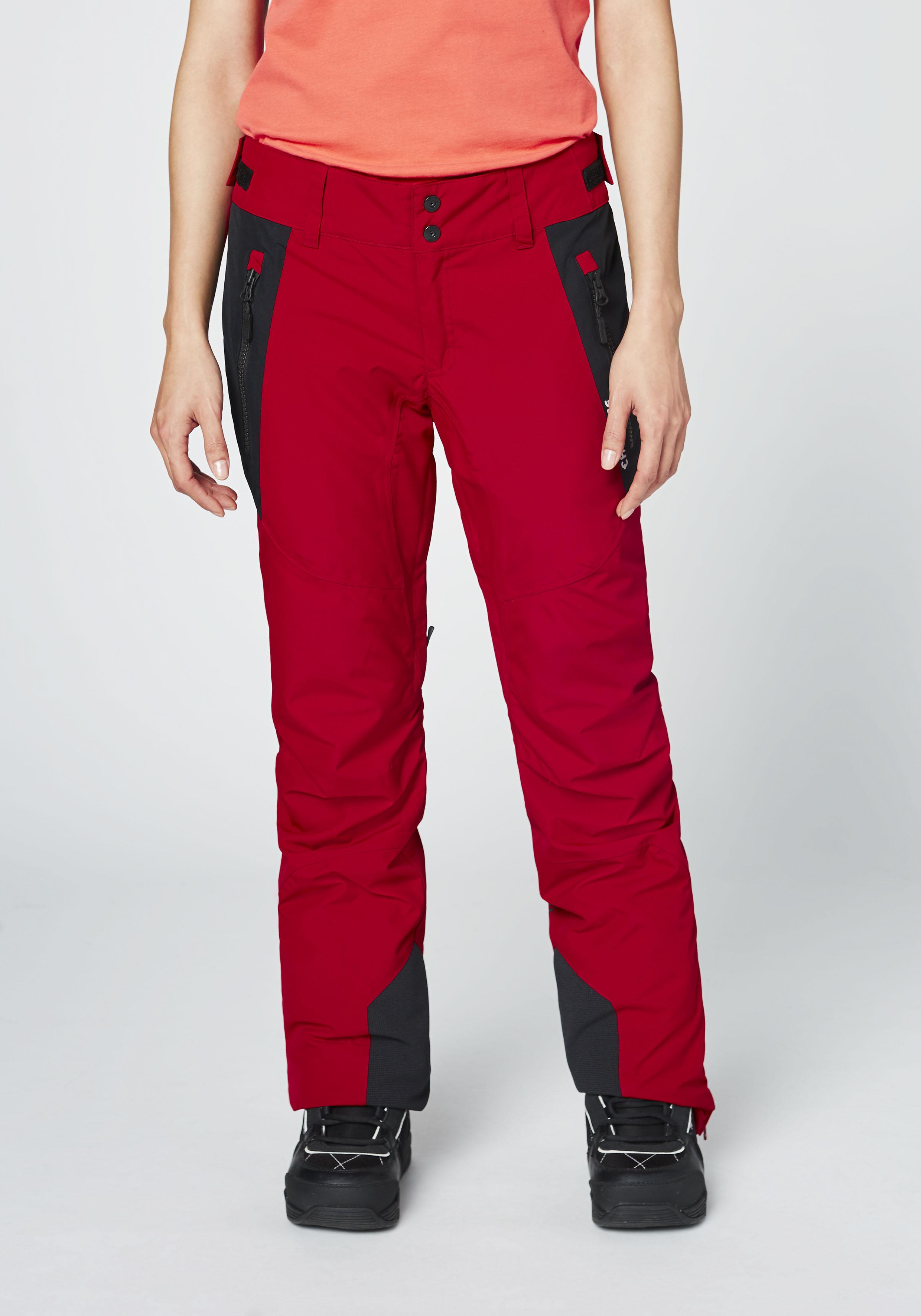 Chiemsee Skihose Skihose für Damen | Sportbekleidung > Sporthosen | Rot | Chiemsee