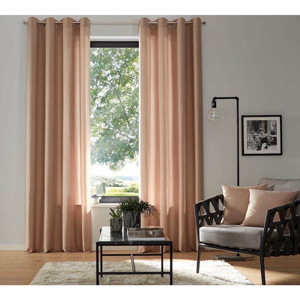 my home Vorhang »Luna«, Inkl. 2 Raffhaltern