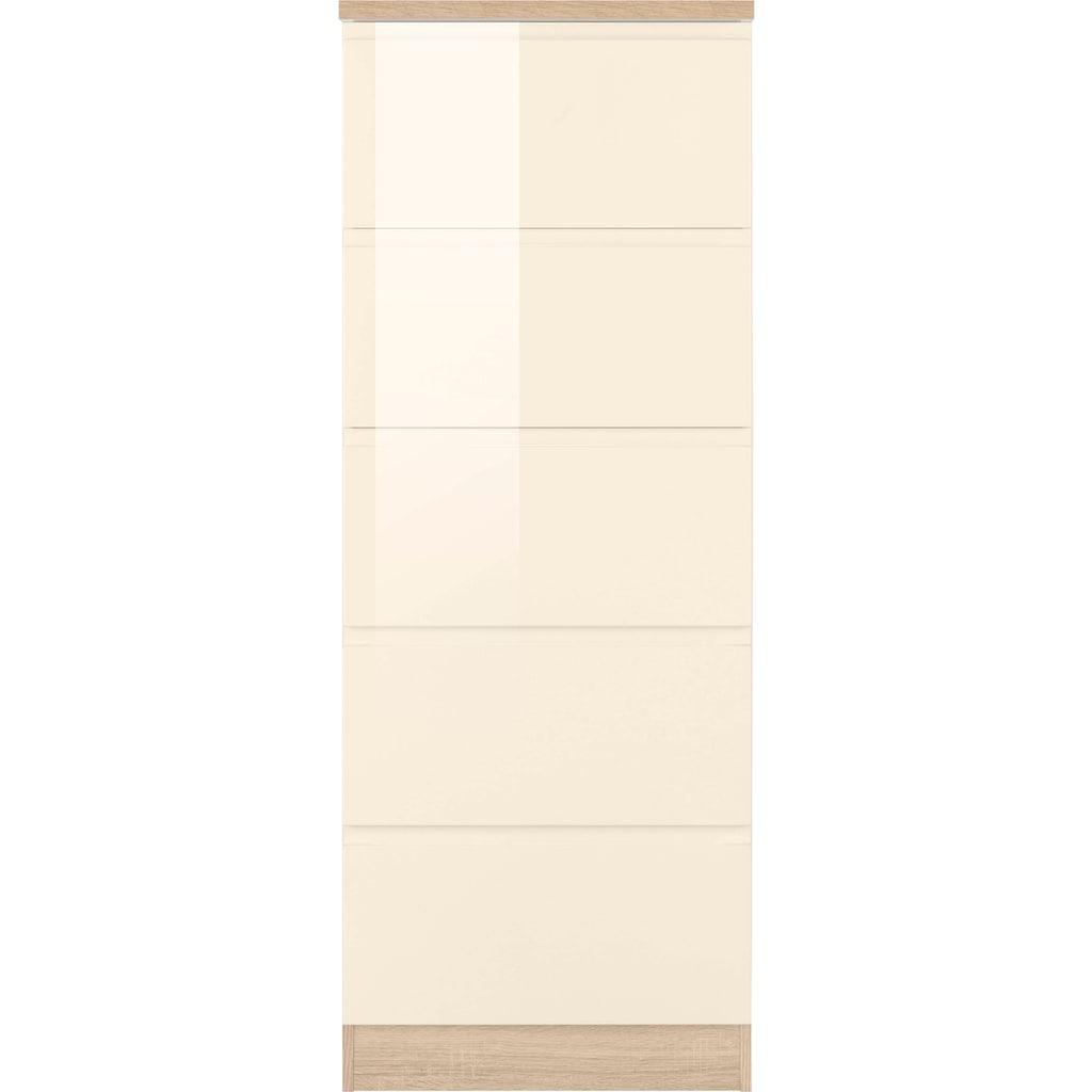 HELD MÖBEL Vorratsschrank »Virginia«, 60 cm breit, mit 5 Auszügen