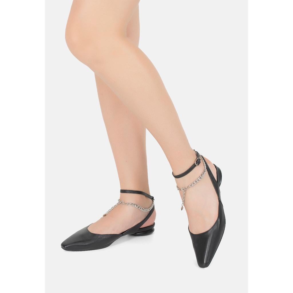 ekonika Ballerina »Portal«, mit modischer Zierkette