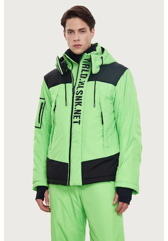 Finn Flare Winterjacke, mit modischen Kontrasteinsätzen kaufen