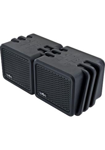 Schwaiger Bluetooth Lautsprecher wasserdicht, Outdoor Twin Speaker »IPX7, tragbar« kaufen