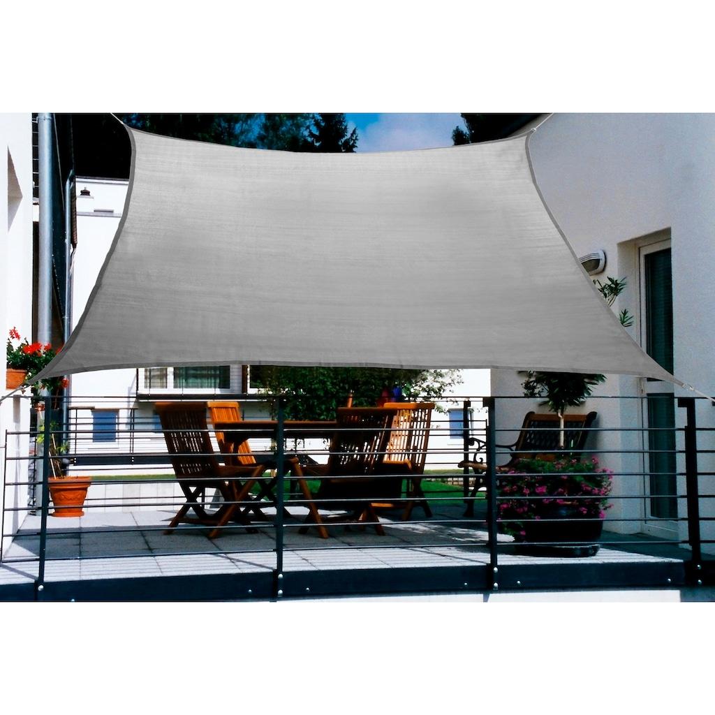 Floracord Sonnensegel, BxT: 270x140 cm, grau