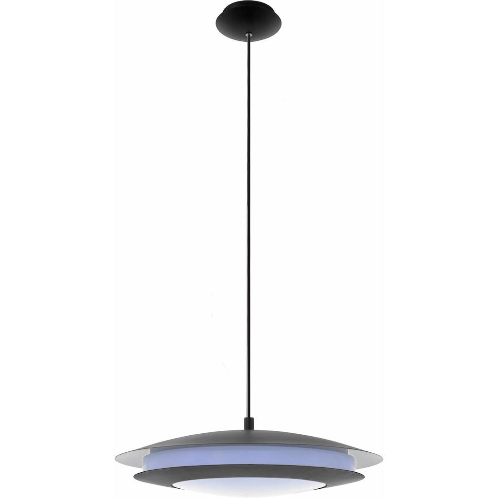 EGLO LED Pendelleuchte »MONEVA-C«, LED-Board, Neutralweiß-Tageslichtweiß-Warmweiß-Kaltweiß, Hängeleuchte, EGLO CONNECT, Steuerung über APP + Fernbedienung, BLE, CCT, RGB, dimmbar, Smart Home, Farbwechsel