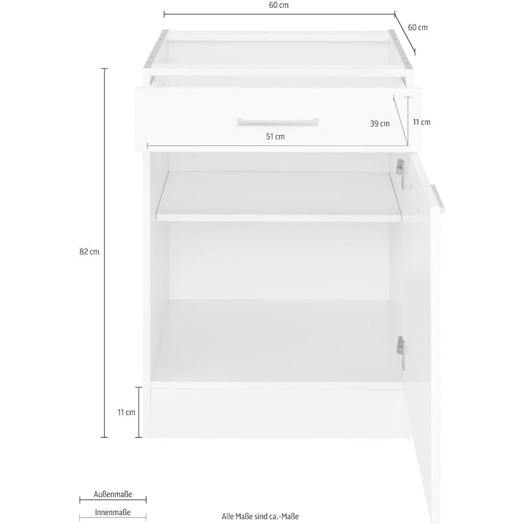 HELD MÖBEL Unterschrank »Visby«, Breite 60 cm