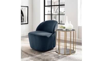 andas Loungesessel »Dianalund«, aus weichem Samtvelours Bezug, in unterschiedlichen Farbvarianten, Cocktailsessel Design by Morten Georgsen kaufen