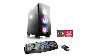 CSL »Levitas T8118 Windows 10 Home« Gaming - PC (AMD, Ryzen 3, Radeon Vega 8) kaufen