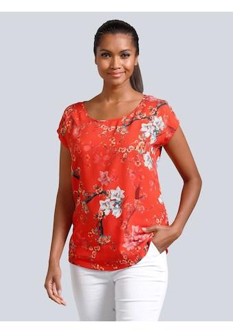 Alba Moda Bluse in sommerlicher Farbgebung kaufen