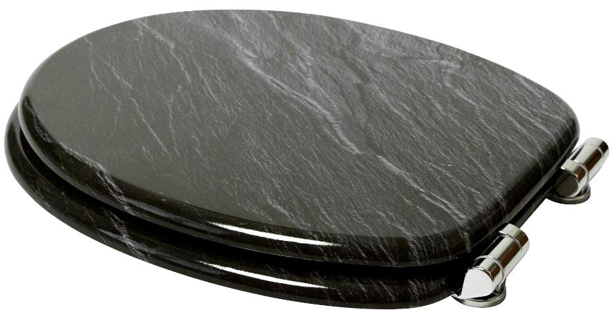 Indexbild 5 - Sanilo WC-Sitz Granit, mit Absenkautomatik WC-Sitze WC Bad Sanitär
