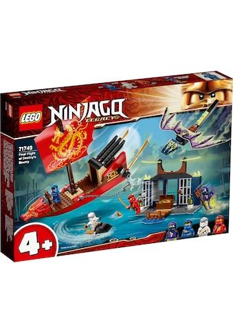 LEGO® Konstruktionsspielsteine »Flug mit dem Ninja-Flugsegler (71749), LEGO®... kaufen