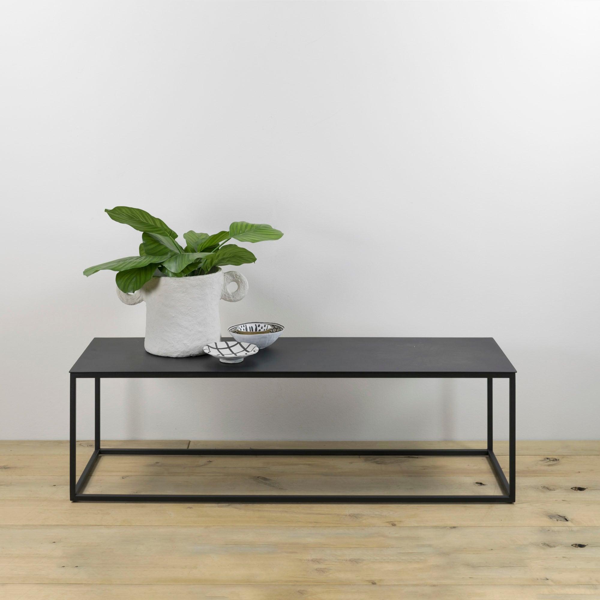 Spinder Design Beistelltisch Store, Breite 120 cm schwarz Beistelltische Tische