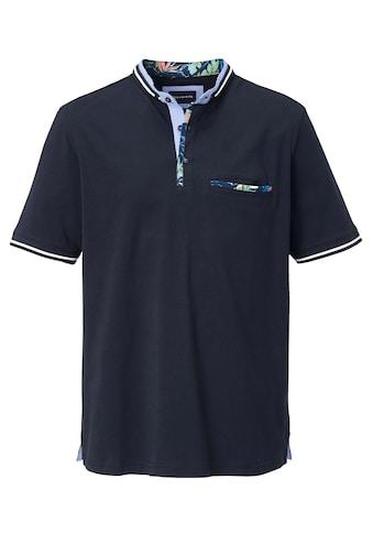 Babista Shirt mit modischem Stehkragen in Doppeloptik kaufen
