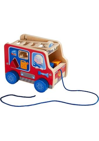 Haba Nachziehfahrzeug »Feuerwehrauto«, aus Holz kaufen