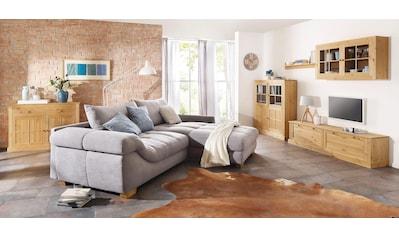 Home affaire Highboard »Cindy«, mit dekorativen Fräsungen und Glastüreneinsätzen,... kaufen