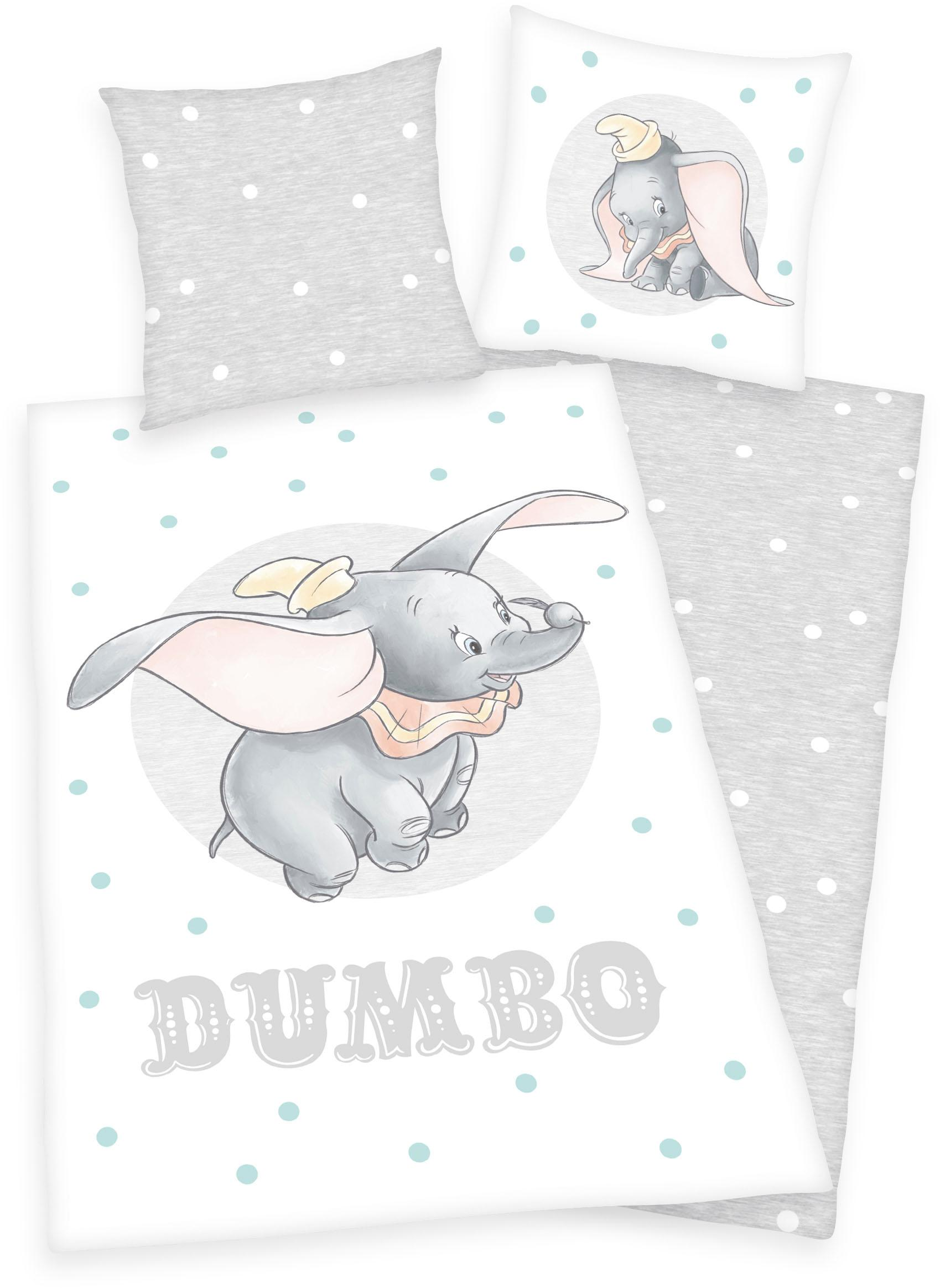 Kinderbettwäsche Disney´s Dumbo Walt Disney