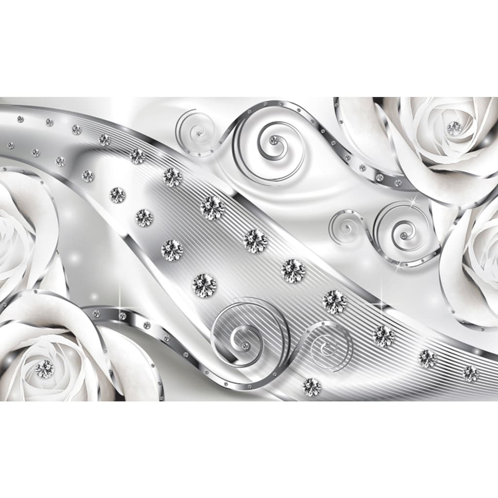 Consalnet Fototapete »Luxuriöse Diamanten«, Motiv