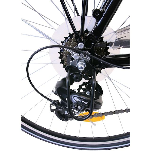 Performance Trekkingrad 21 Gang Shimano TOURNEY TY 300 Schaltwerk, Kettenschaltung