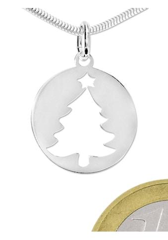 Adelia´s Kettenanhänger »Damen Schmuck Anhänger 925 Silber Weihnachtsbaum« kaufen
