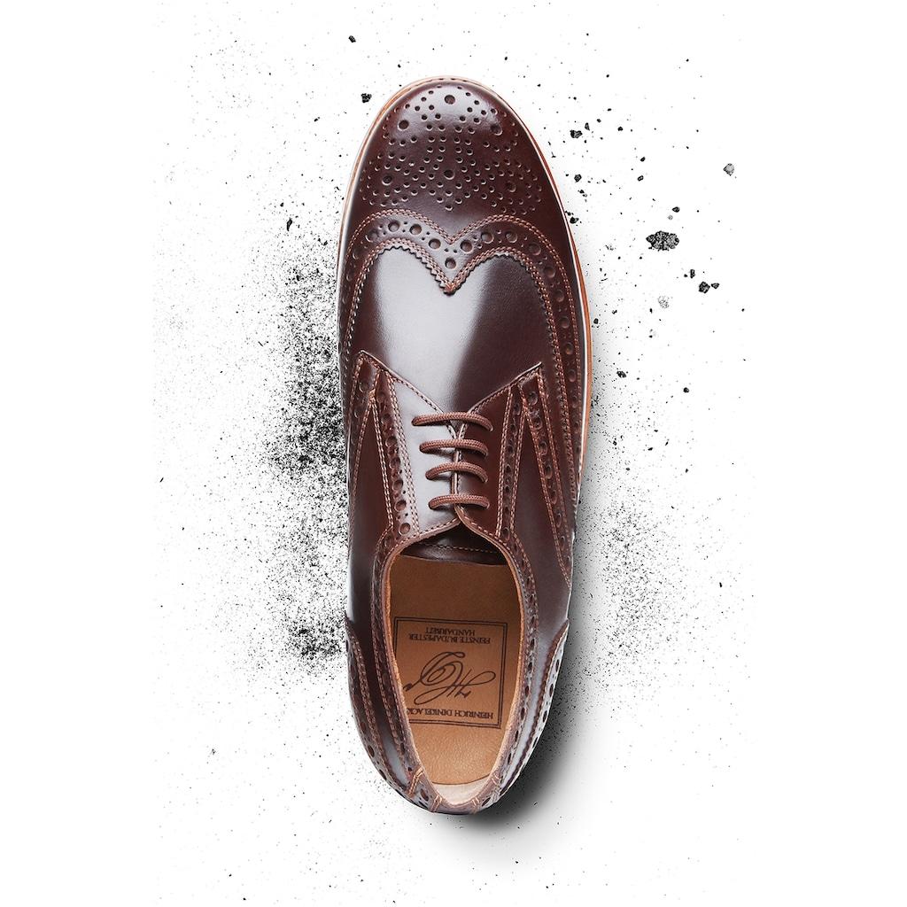 Heinrich Dinkelacker Schnürschuh »Rio Full-Brogue H«, Wahre Schuhmacherkunst aus Budapest