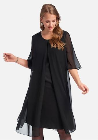 Anna Aura Abendkleid »Kleid mit langem 1/2-Arm«, und Überwurf kaufen