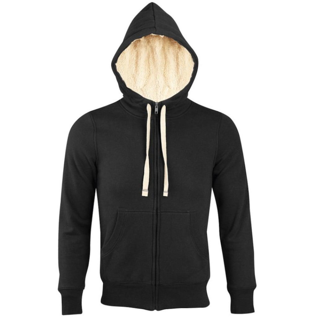 SOLS Kapuzennickijacke »Sherpa Unisex Kapuzenjacke / Kapuzen-Sweatshirt mit Reißverschluss«
