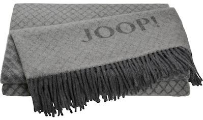 Joop! Plaid »Fine Diamond«, mit dekorativem JOOP! Logo kaufen