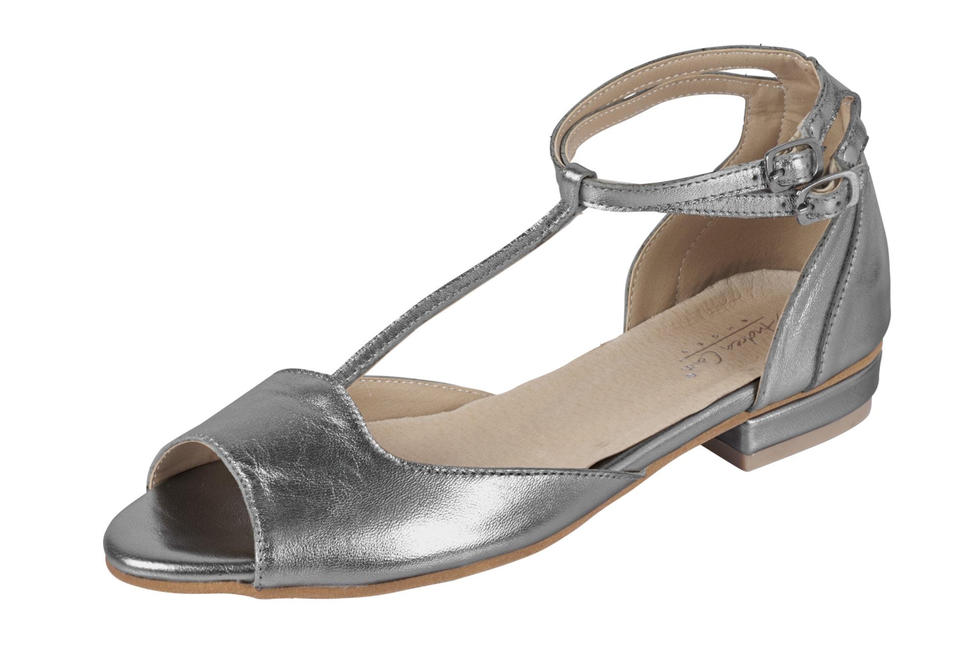 Andrea Conti Ballerina im Metallic-Look online kaufen | | | Gutes Preis-Leistungs-Verhältnis, es lohnt sich 12f4b1