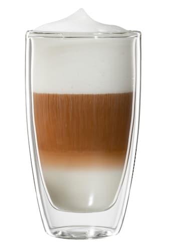 Bloomix Latte-Macchiato-Glas »Roma«, (Set, 4 tlg.), Doppelwandig kaufen