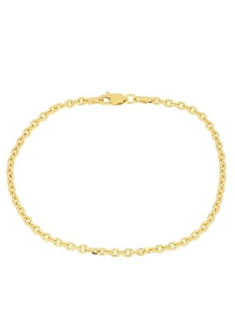 Firetti Armkette »Ankerkettengliederung, 2,5 mm breit, glanz, 4 - fach diamantiert, vergoldet« kaufen