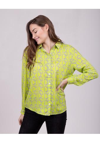 Key Largo Klassische Bluse »GINA«, mit ausgefallenem Muster kaufen