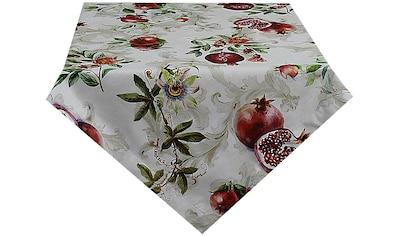 HOSSNER - HOMECOLLECTION Mitteldecke »Granatapfel«, (1 St.), mit Herbstmotiv kaufen